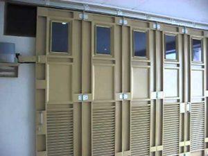 pintu garasi sliding belok tikung Wina